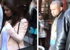 Kim Kardashian & Kanye West -- Out to Lunch