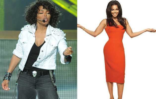 Janet Jackson Shows Off Weight Loss In Super-Tight Dress