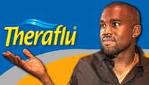 Kanye West -- Theraflu In a Funk Over New Song