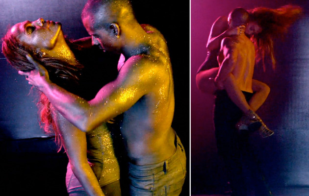 Jennifer Lopez Gets Hot & Heavy with Casper Smart In New Video