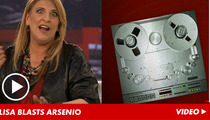 Lisa Lampanelli -- Arsenio Hall's 'Apprentice' Outburst Turned VIOLENT Behind the Scenes