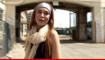 Lindsay Lohan -- I Didn't Fight ANYONE!!!