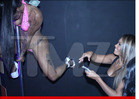 'Basketball Wives' Star Evelyn Lozada -- Spends Easter Weekend in a Strip Club