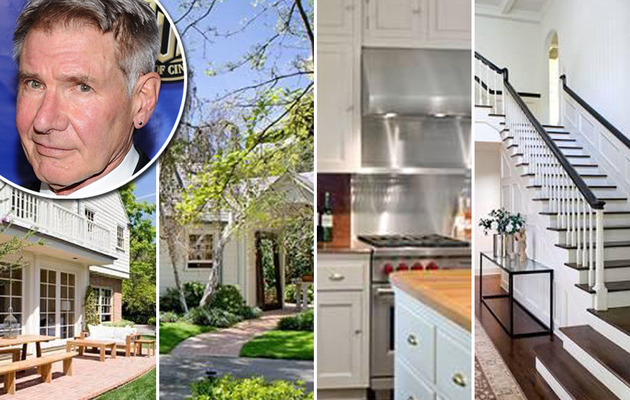 Harrison Ford Puts Mega-Mansion on the Market!