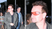 Bono -- Shady Passover Celebration in the Holy Land