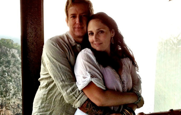 Ricki Lake Elopes with Christian Evans -- See Her Wedding Dress!