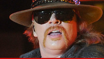Axl Rose -- I Will NOT Attend Rock and Roll Hall Induction Ceremony