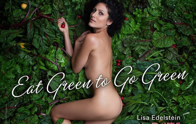 "Former ""House"" Star Goes Naked for PETA"