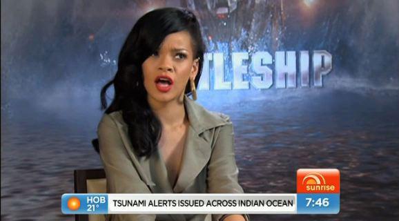 Rihanna Cuts Interview Short Over Relationship Questions