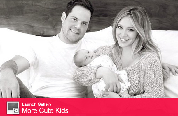 Hilary Duff Shares Family Photo with Baby Luca