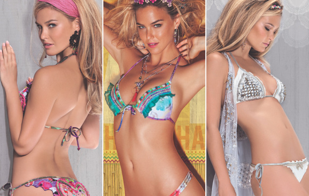 Bar Refaeli Shows Killer Bikini Bod for New Campaign