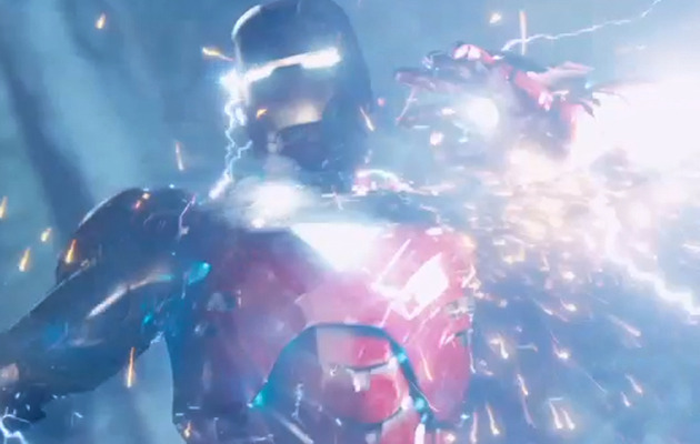 "Iron Man & Thor Battle In New Clip from ""The Avengers"""