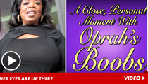 Oprah Winfrey -- My Eyes Are UP HERE!!