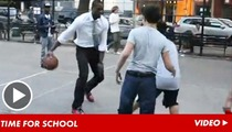 Dwyane Wade Dominates Pick-up Game ... Against a Bunch of Kids