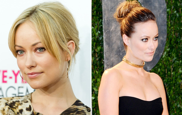 "Better Blonde? Olivia Wilde Lightens Up at ""The Five-Year Engagement"" Premiere"