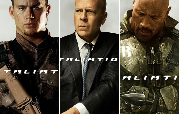 "Bruce & The Rock: See Heavyweights In ""G.I. Joe"" Sequel!"