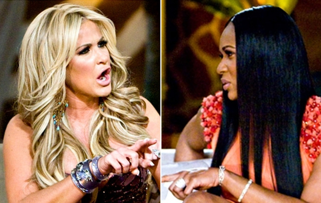 "Catfight Topic Hits Below the Belt -- Literally -- On ""Housewives"" Reunion!"