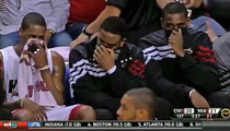 Shaq Demands Answers -- Who Farted on Miami Heat Bench?!?