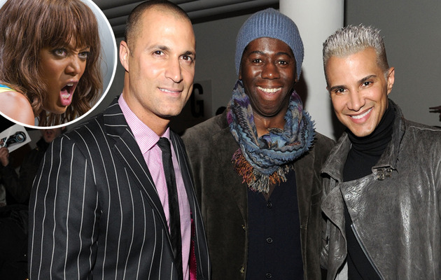 "Major Shake-Up on ""America's Next Top Model:"" Mr. and Miss Jay, Nigel Let Go"