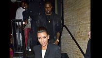 Kim Kardashian & Kanye West -- Spicing Things Up [PHOTO]