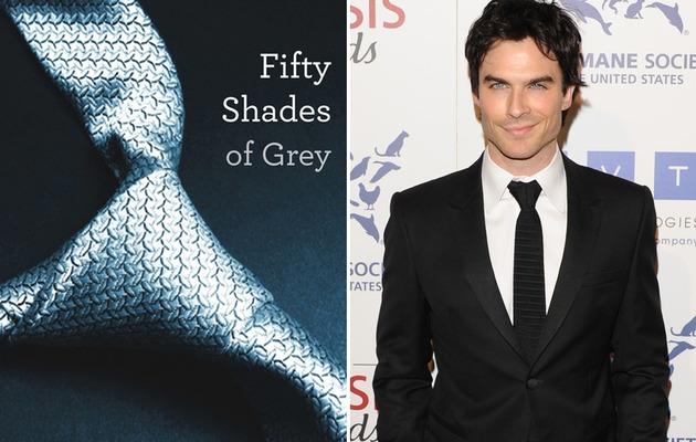 "Ian Somerhalder Wants ""Fifty Shades of Grey"" Gig"