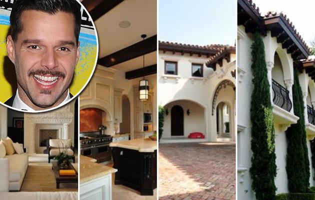 Ricky Martin Sells Miami Beach Mansion!