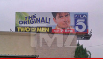 'Two and a Half Men' Charlie Sheen Ad -- You Don't Have to Settle for Ashton Kutcher