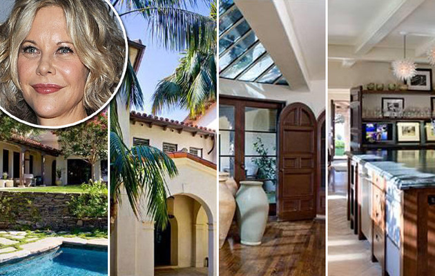Meg Ryan Lists Her Bel Air Mansion ... Again!