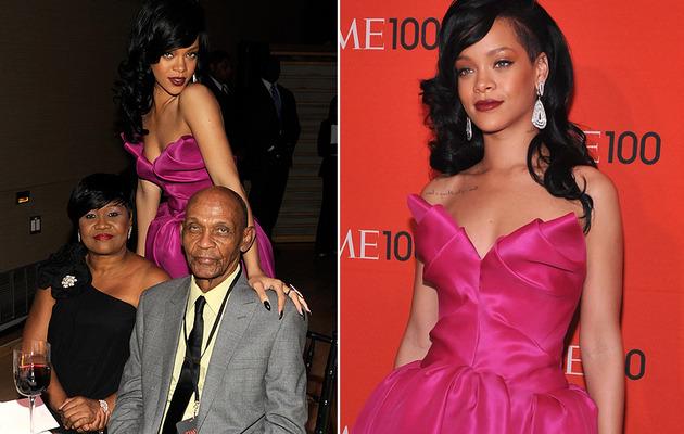 Rihanna Embarrassed by Mom's Ashton Kutcher Joke