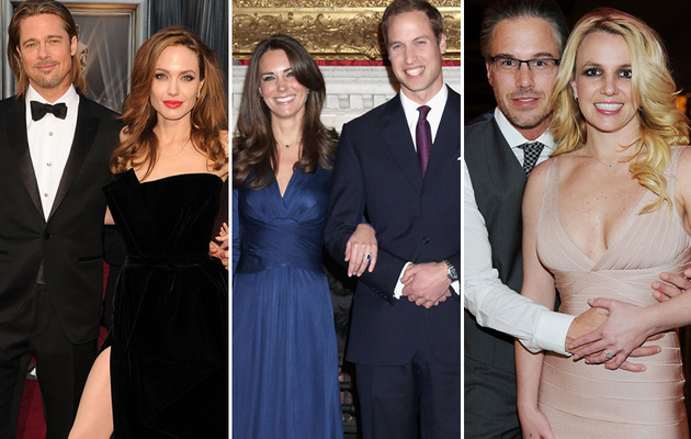 10 Most Memorable Celebrity Engagements!