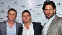Chris Hemsworth, Channing Tatum or Joe Manganiello -- Who'd You Rather?