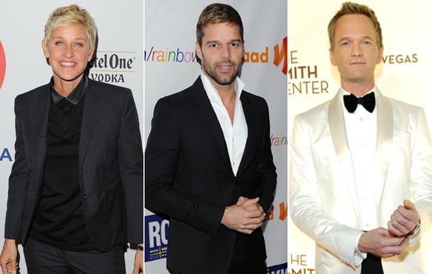 15th Anniversary of Ellen Coming Out -- See More Openly Gay Stars!