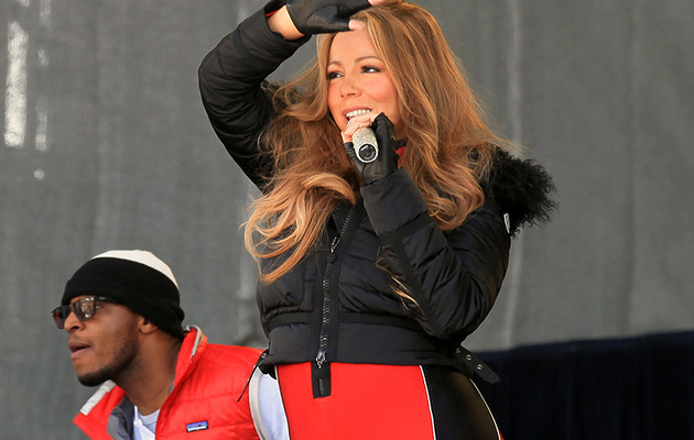 Repeat Offender: Mariah Carey Rocks Head-to-Toe Spandex ... Again!
