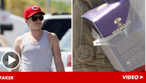 'Hunger Games' Star Josh Hutcherson -- Real Good Taste in Scotch, But Really Fake ID (Allegedly)