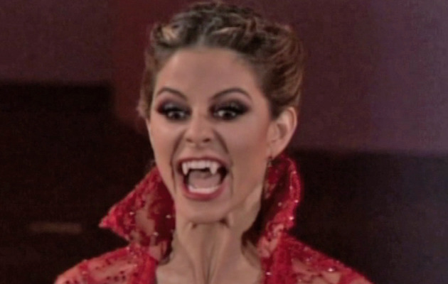 "Maria Menounos Gets First Perfect Score of the Season on ""DWTS"""