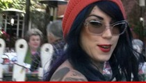Kat Von D -- Cops Rush to Home Over Phone Creep