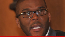 Tyler Perry -- Madea's Studio Goes Up in Flames