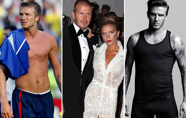 David Beckham Turns 37 -- See His Sexiest Shots!