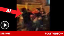 'Mob Wives' Star Arrested Over Street Brawl ... Caught on Tape!