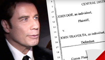 John Travolta Sued by Masseur -- He Touched My Penis