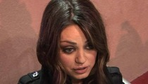 Mila Kunis -- Rushes to Save a Man's Life