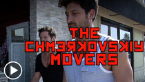 'Dancing With the Stars' Brothers -- Maksim and Valentin FAIL at Furniture Moving