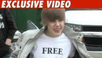 Justin Bieber -- Cutest Lil' Protester Ever