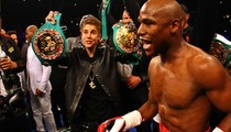 Justin Bieber -- I Wore $20K On My NECK at Mayweather Fight