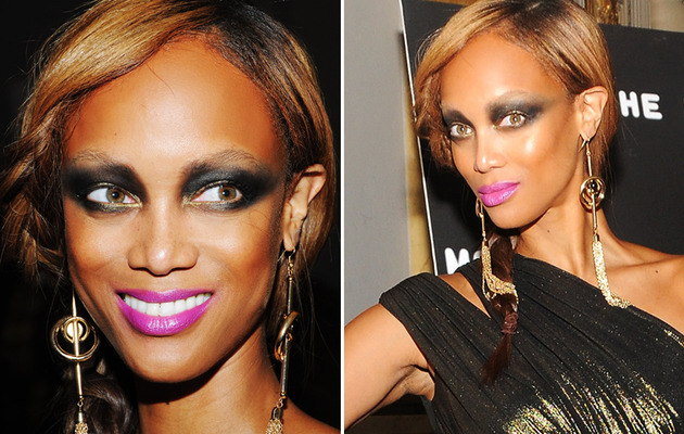 Tyra Banks: Makeup Disaster in NYC