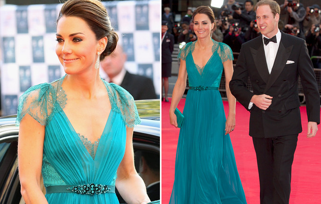 Duchess Kate Turns Heads In Teal!