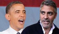 Barack Obama -- Cracks Clooney Jokes at $15 Mil Fundraiser