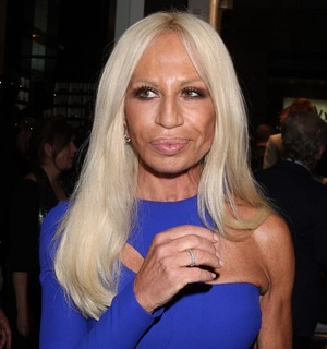 Stare at Donatella Versace!