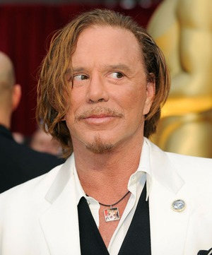 Mickey Rourke's Face -- Through The Years