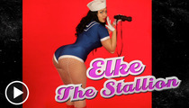 Elke the Stallion -- Check Out My Massive 'Urban' Butt